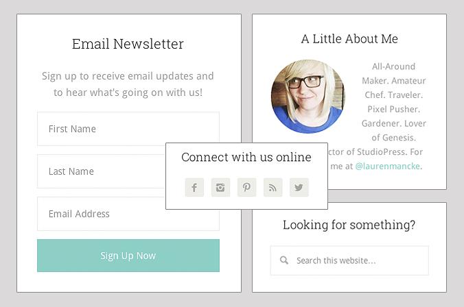 Cómo optimizar la barra lateral de un blog