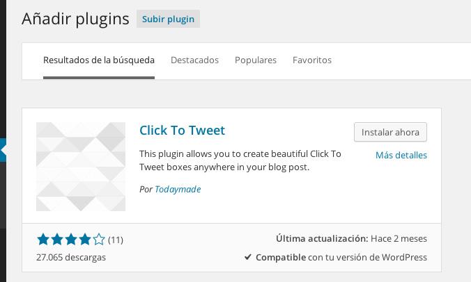 plugin click to tweet