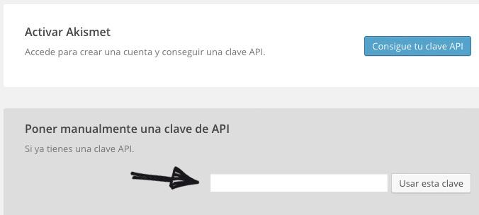 activar plugin spam