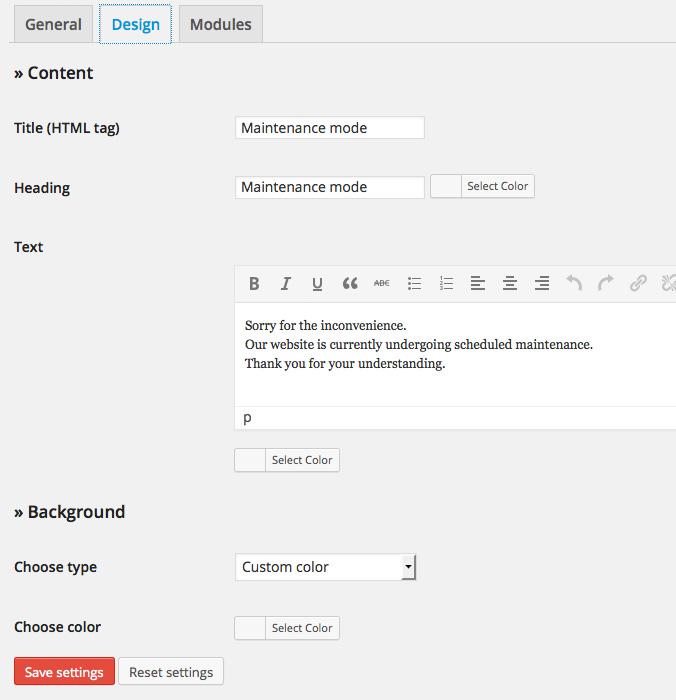 Wordpress en construcción tutorial
