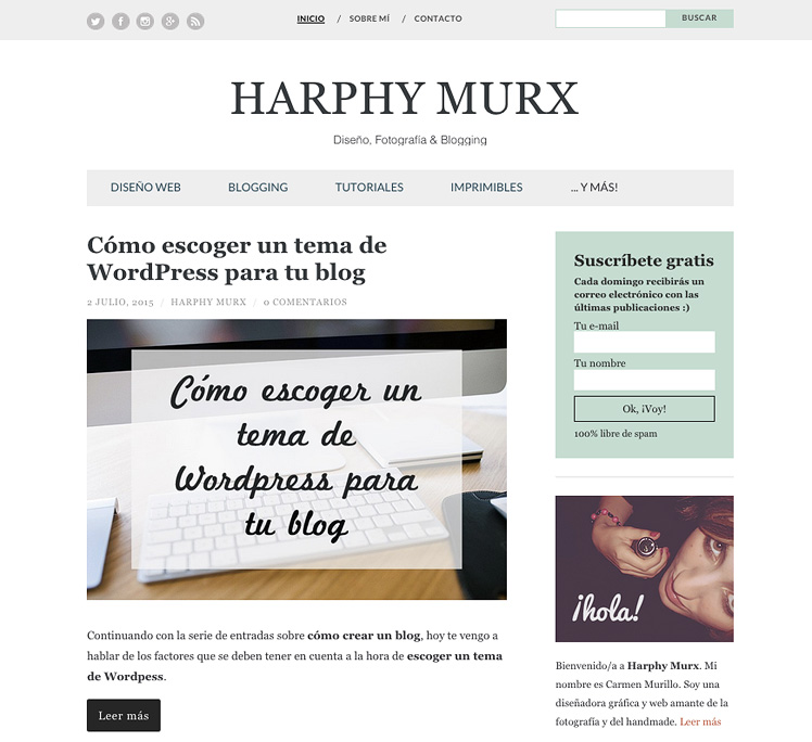 Harphy Murx diseño