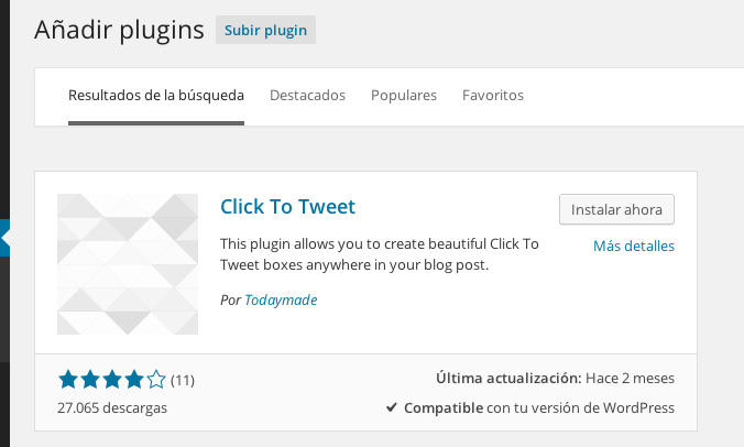 plugin click to tweet