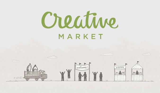 Diseño gráfico Creative Market