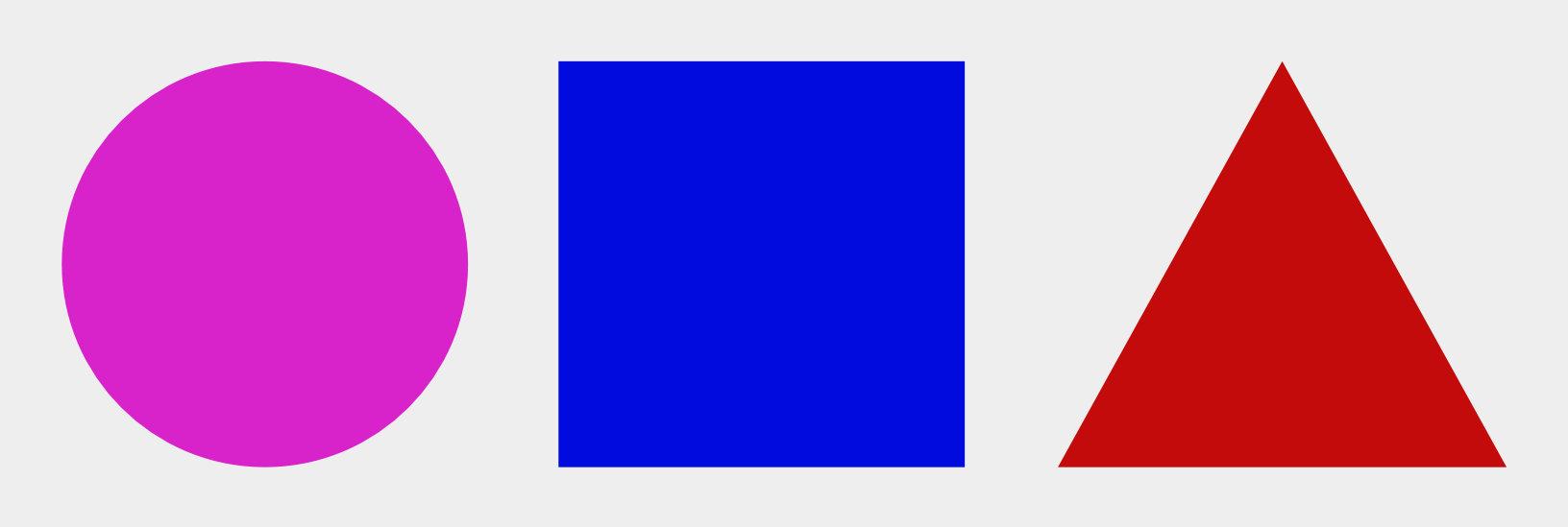 Formas planas geométricas